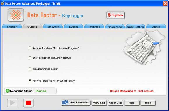 Windows 7 Remote Keylogger Utility 3.0.1.5 full