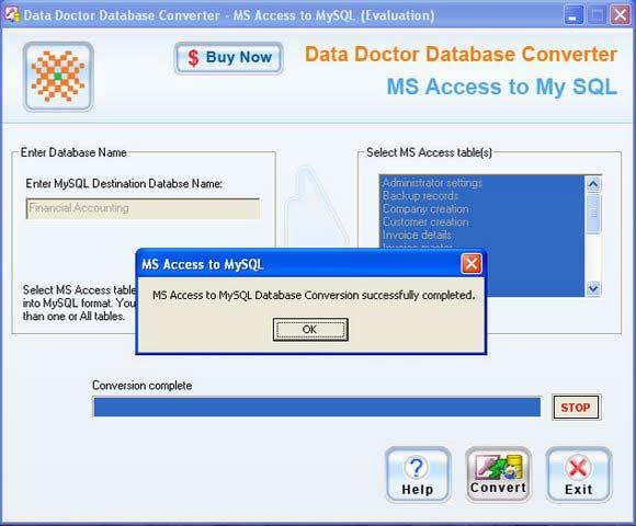 Windows 7 Migrate MS Access To MySQL 2.0.1.5 full